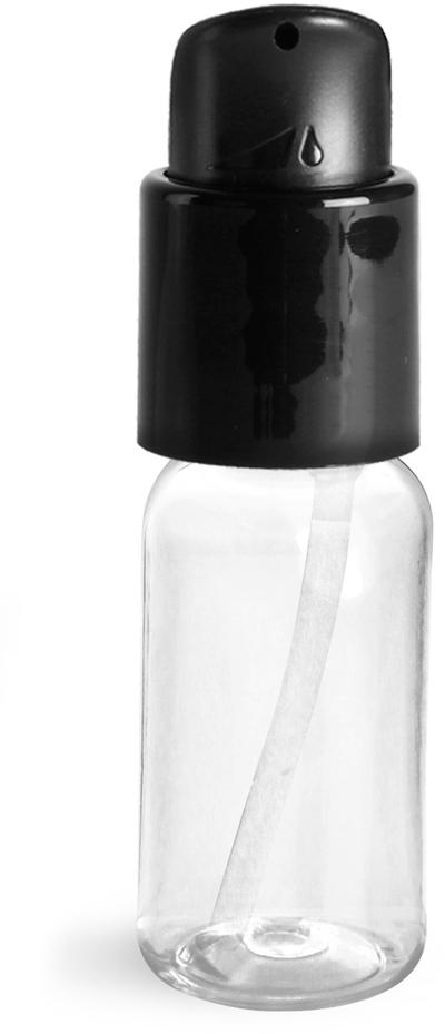 Smooth Black PP Treatment Pumps w/ 2 5/8
