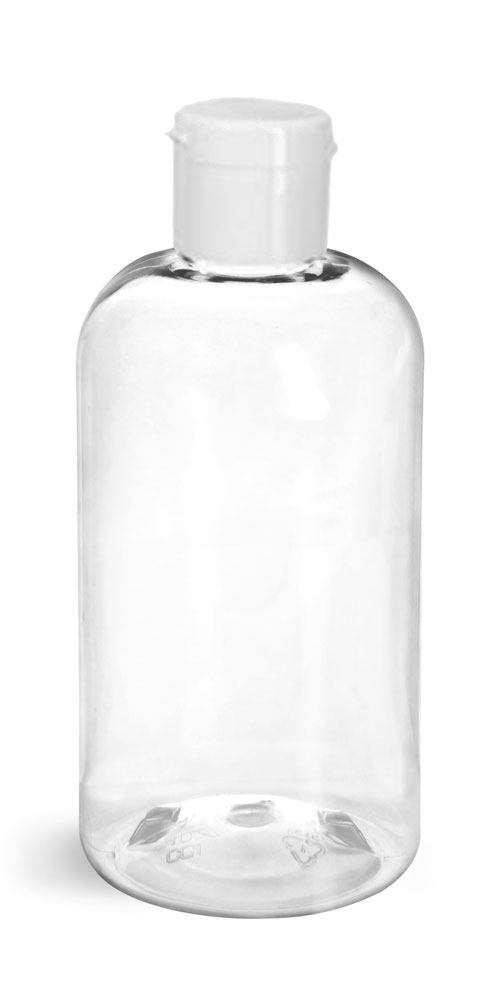 Clear PET Boston Rounds