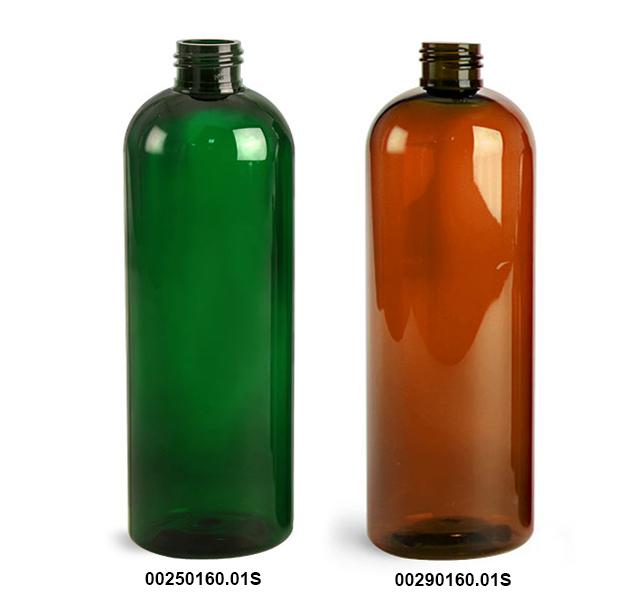 Original Green & Amber PET Cosmo Rounds
