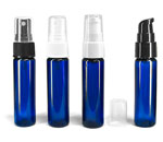 Blue PET Slim Line Cylinders With Pumps