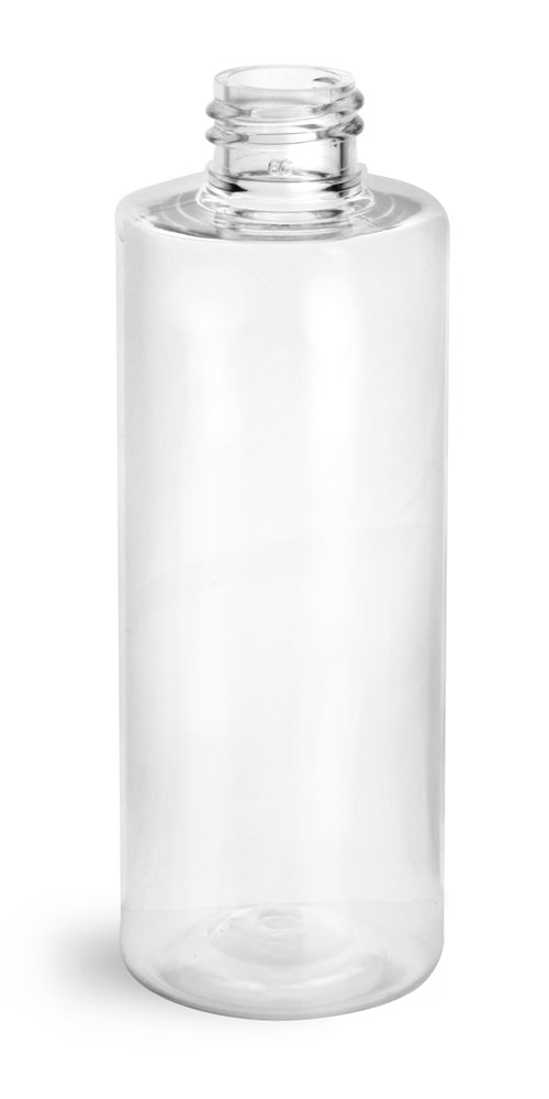 4 oz Clear PET Cylinder Round