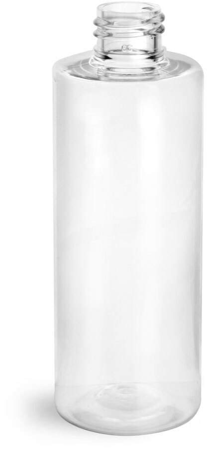 Clear PET Cylinder Round