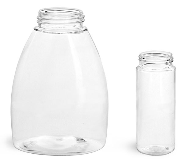 Clear PET Foamer Bottles (Bulk), Caps Not Included