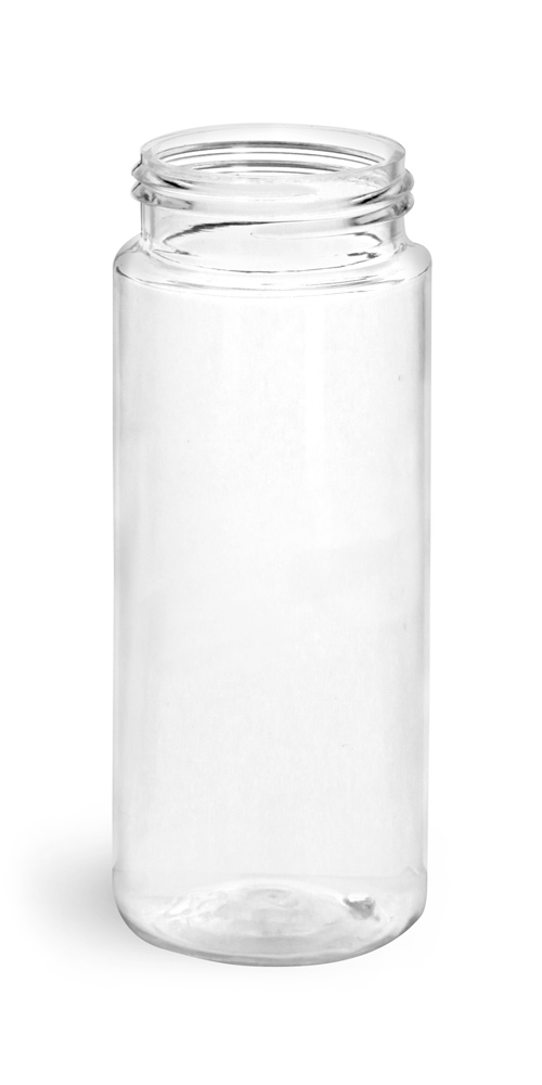50 ml Clear PET Foamer Bottles (Bulk), Caps Not Included