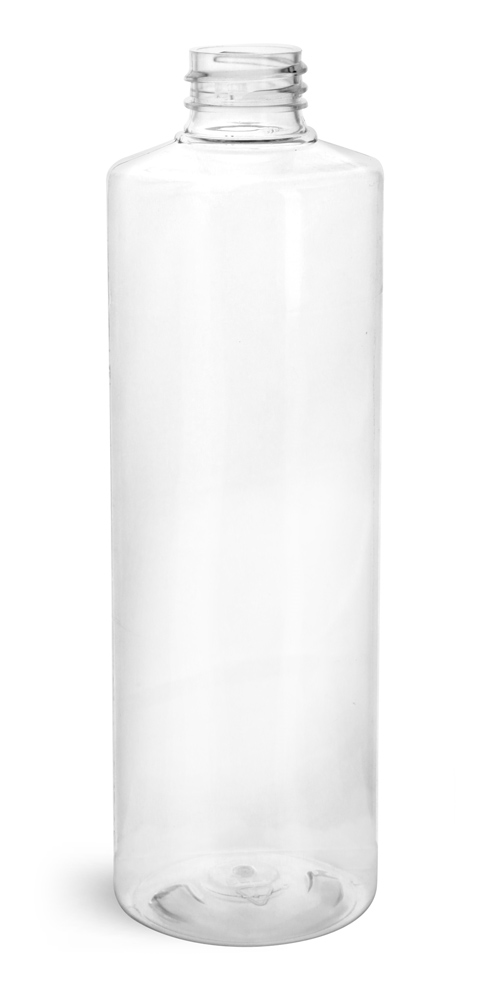 16 oz Clear PET Cylinder Rounds