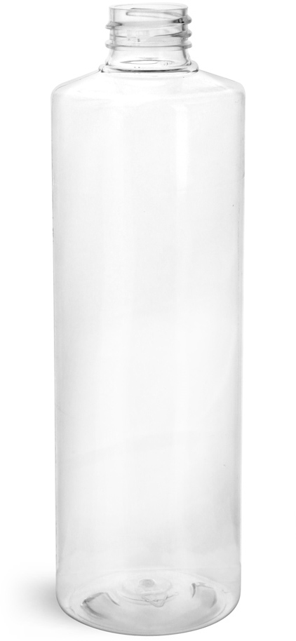 Clear PET Cylinder Rounds