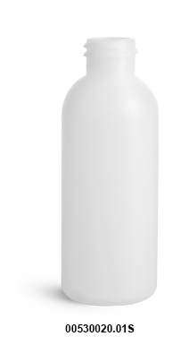 Original 2 oz Natural HDPE Cosmo Round