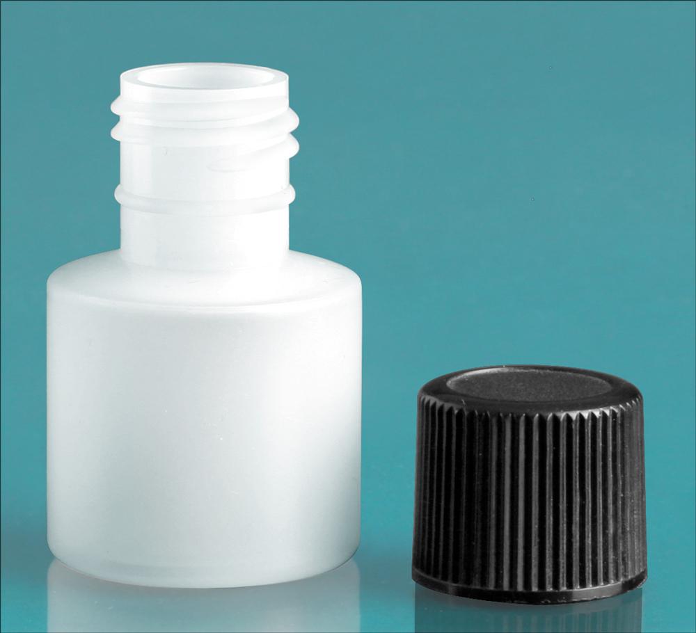 Natural Cylinder w/ Black Screwcap