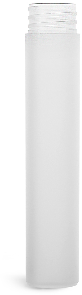 Natural Frosted Polypro Mini Cylinder