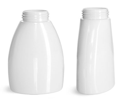 Plastic Bottles, White PET Foamer Bottles (Bulk), Caps Not Included