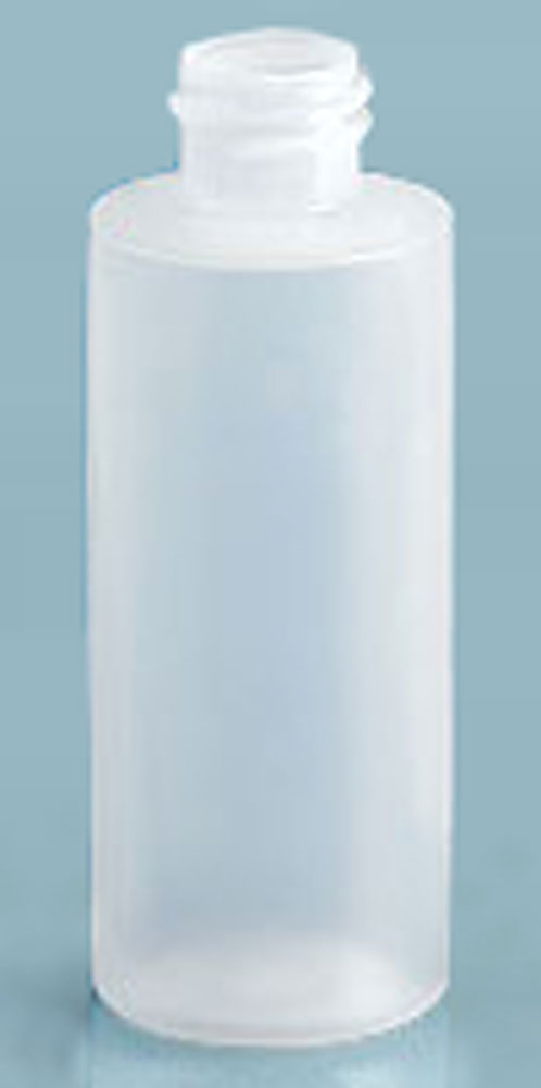 Natural LDPE Cylinders (Bulk), Caps NOT Included