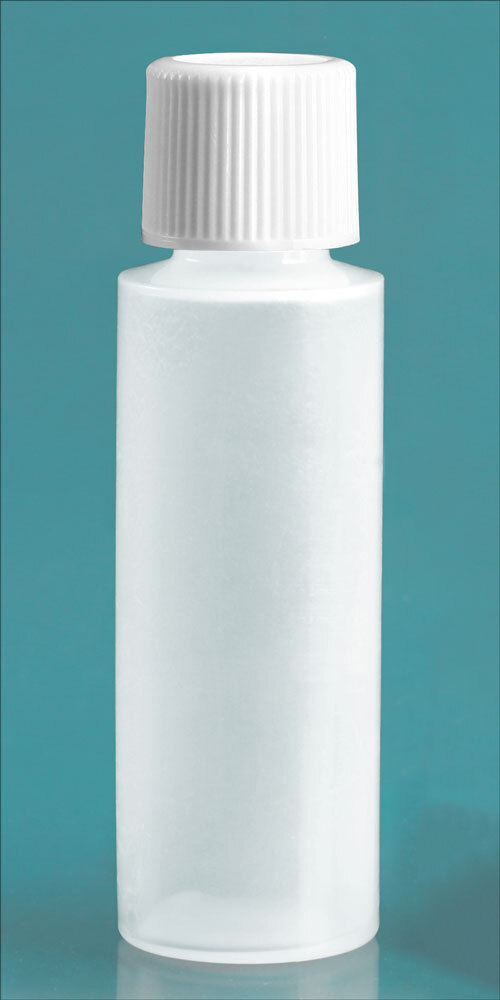 Natural Cylinder w/ White Caps and Orifice Reducers