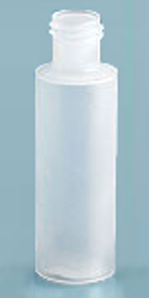 1/2 oz Natural LDPE Cylinders (Bulk), Caps NOT Included