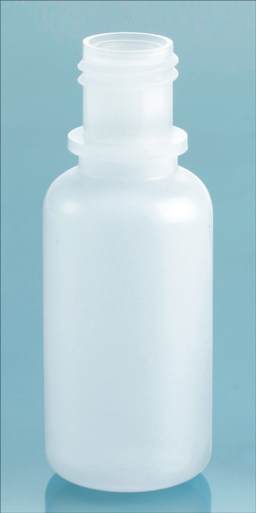 15 cc Natural LDPE Dropper Bottles, (Bulk) Caps NOT Included