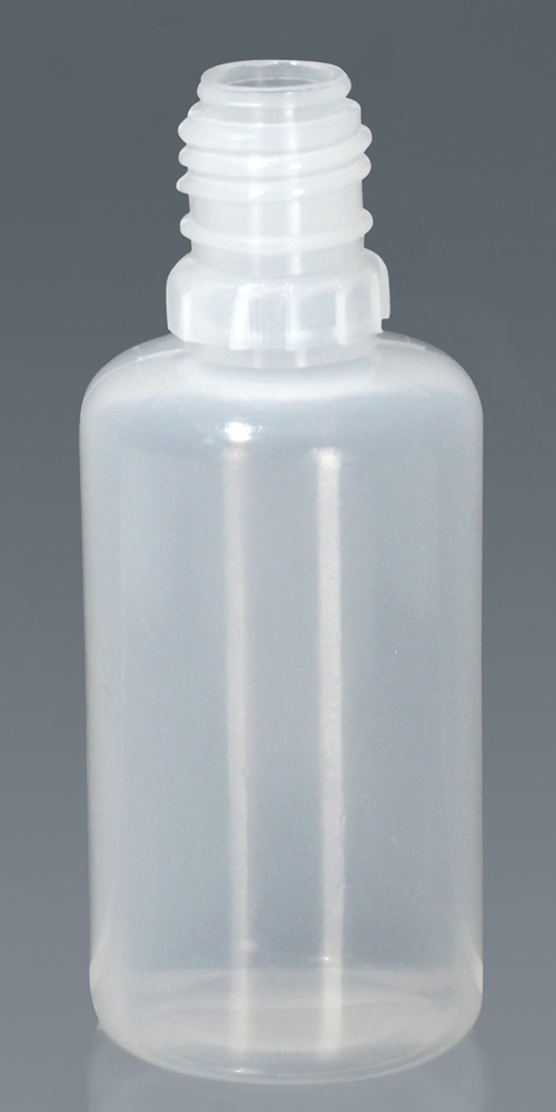 Plastic Bottles, Natural LDPE Tamper Evident Dropper Bottles (Bulk), Caps NOT Included