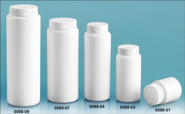 SKS Bottle & Packaging, Plastic Bottles By Color, White Plastic ...