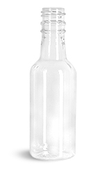 50 ml Clear PET Nip Bottles (Bulk), Caps NOT Included