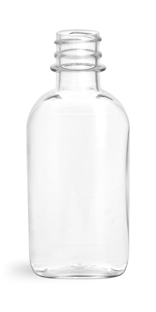 100 ml Clear PET Flasks (Bulk), Caps NOT Included