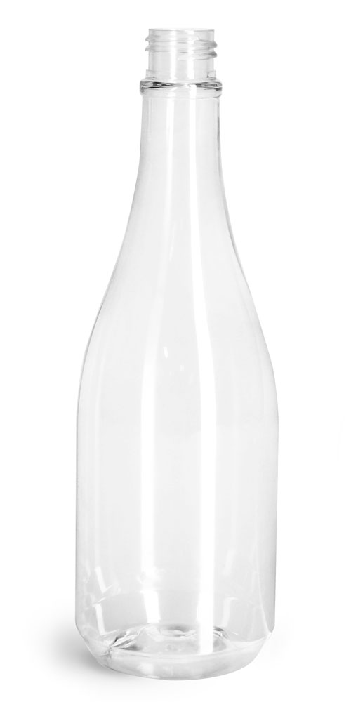 14.5 oz Clear PET Woozy Bottles