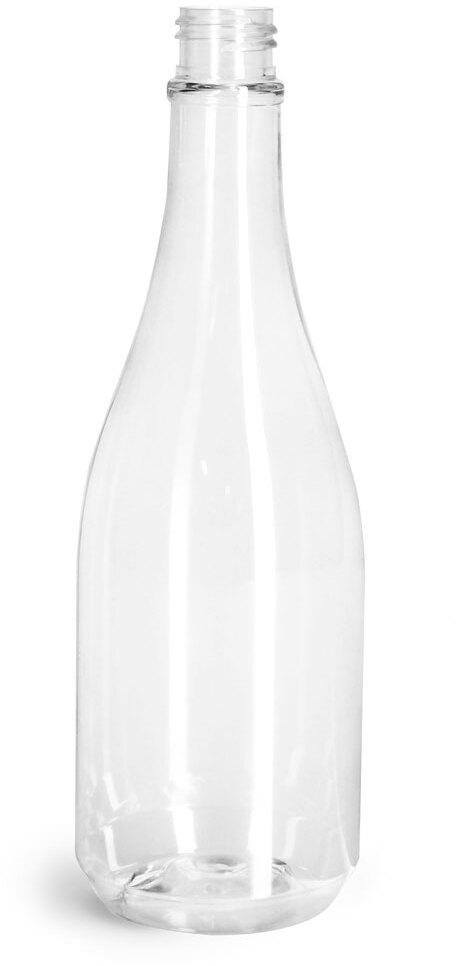Clear PET Woozy Bottles