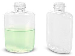 PVC Oval Plastic Bottles
