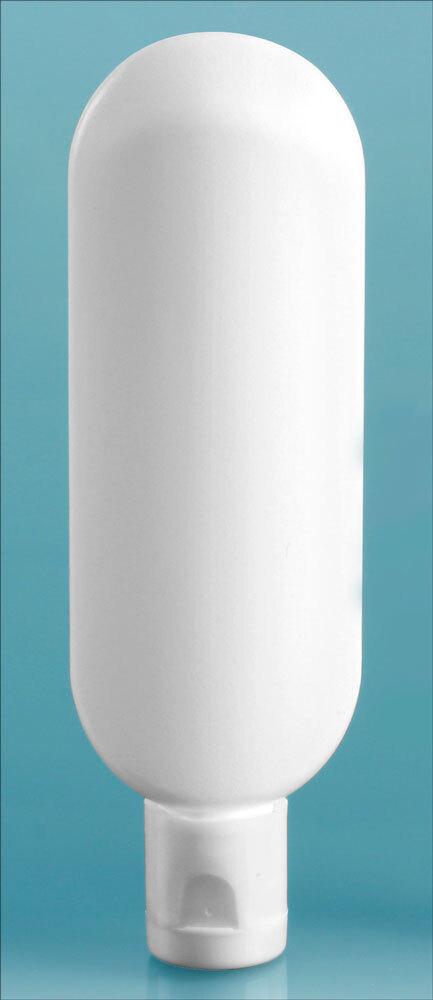 White Snap Top Dispensing Caps