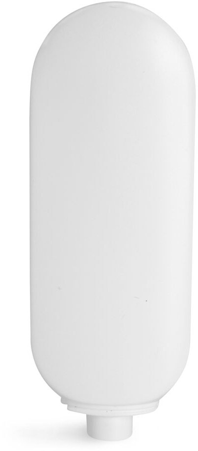 White HDPE Tottles (Bulk), Caps NOT Included