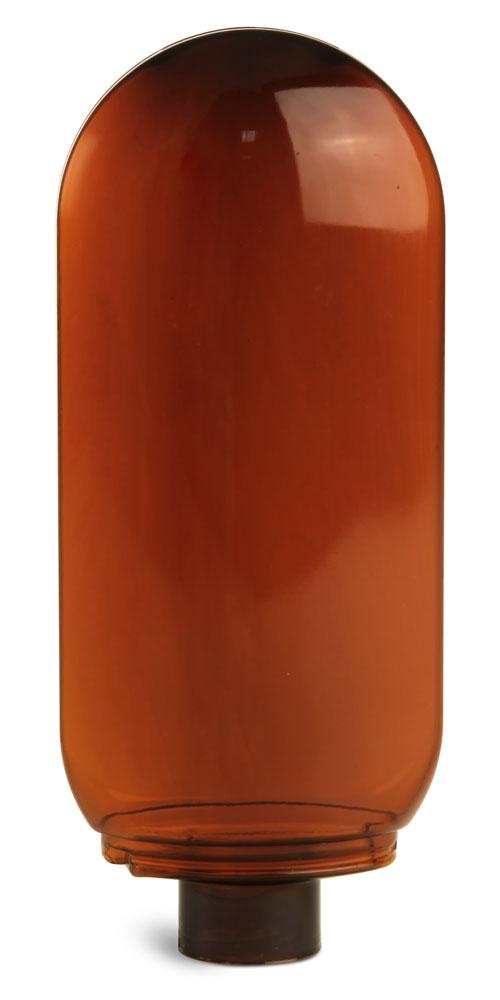 Plastic Bottles, Amber PET Tottle Bottles (Bulk), Caps NOT Included