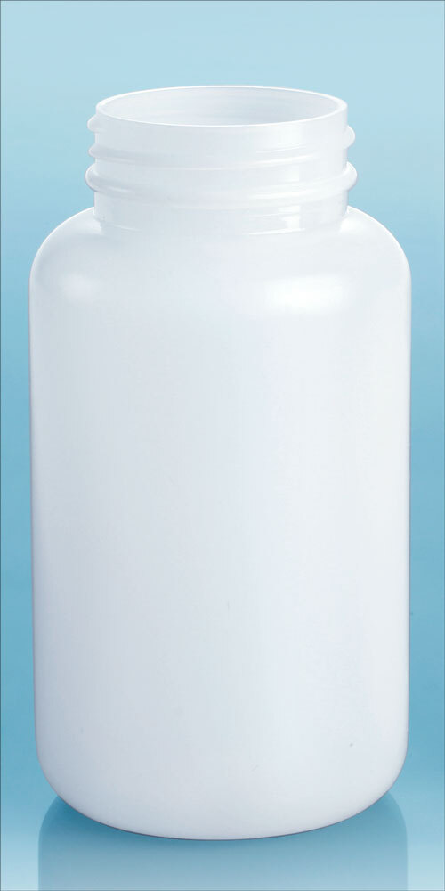 Natural HDPE Pharmaceutical Rounds