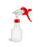HDPE Plastic Bottles, Natural Spray Bottles w/ Trigger Sprayer