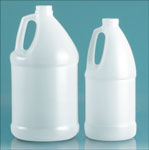 64 oz Natural HDPE Bottles