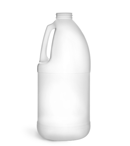 Original Natural HDPE Round Handle Jugs