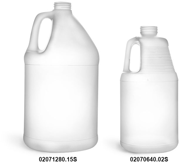 Plastic Bottles, HDPE Jugs, (Bulk) Caps NOT Included