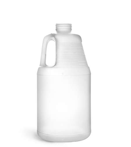 New Natural HDPE Round Handle Jugs
