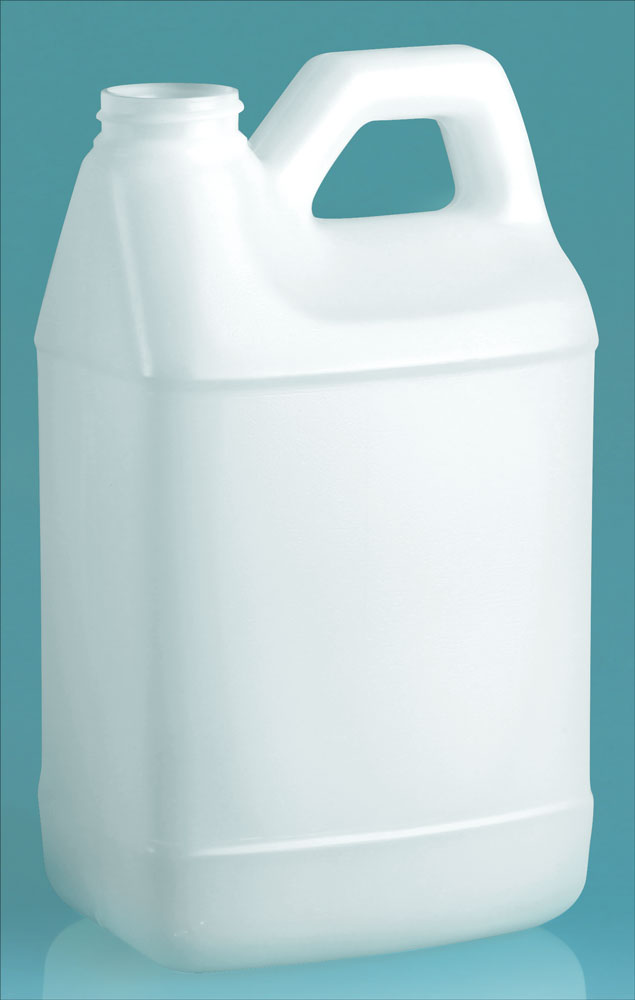 64 oz Natural HDPE F Style Handle Jug