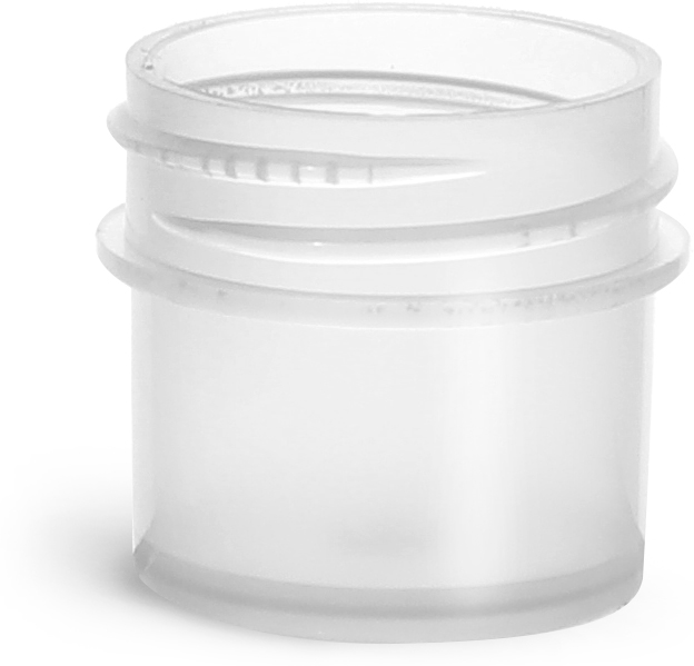 Natural Polypropylene Jars