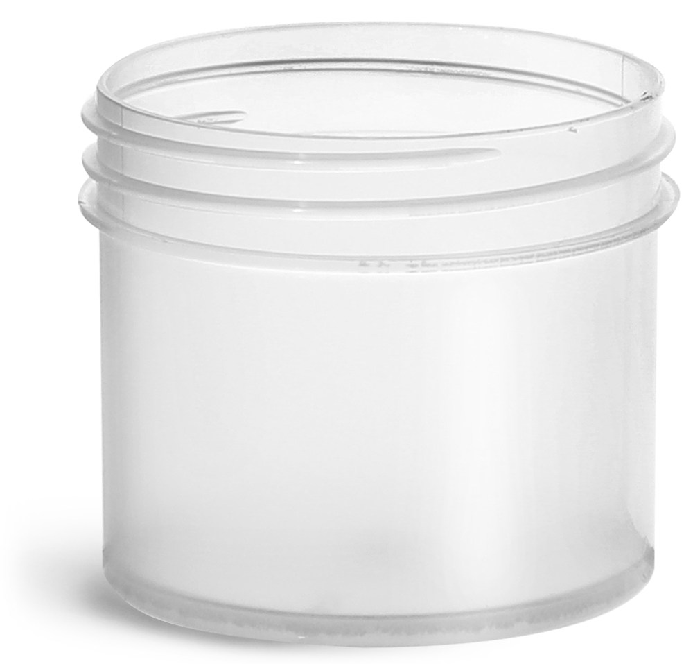 2 oz Natural Polypropylene Jars