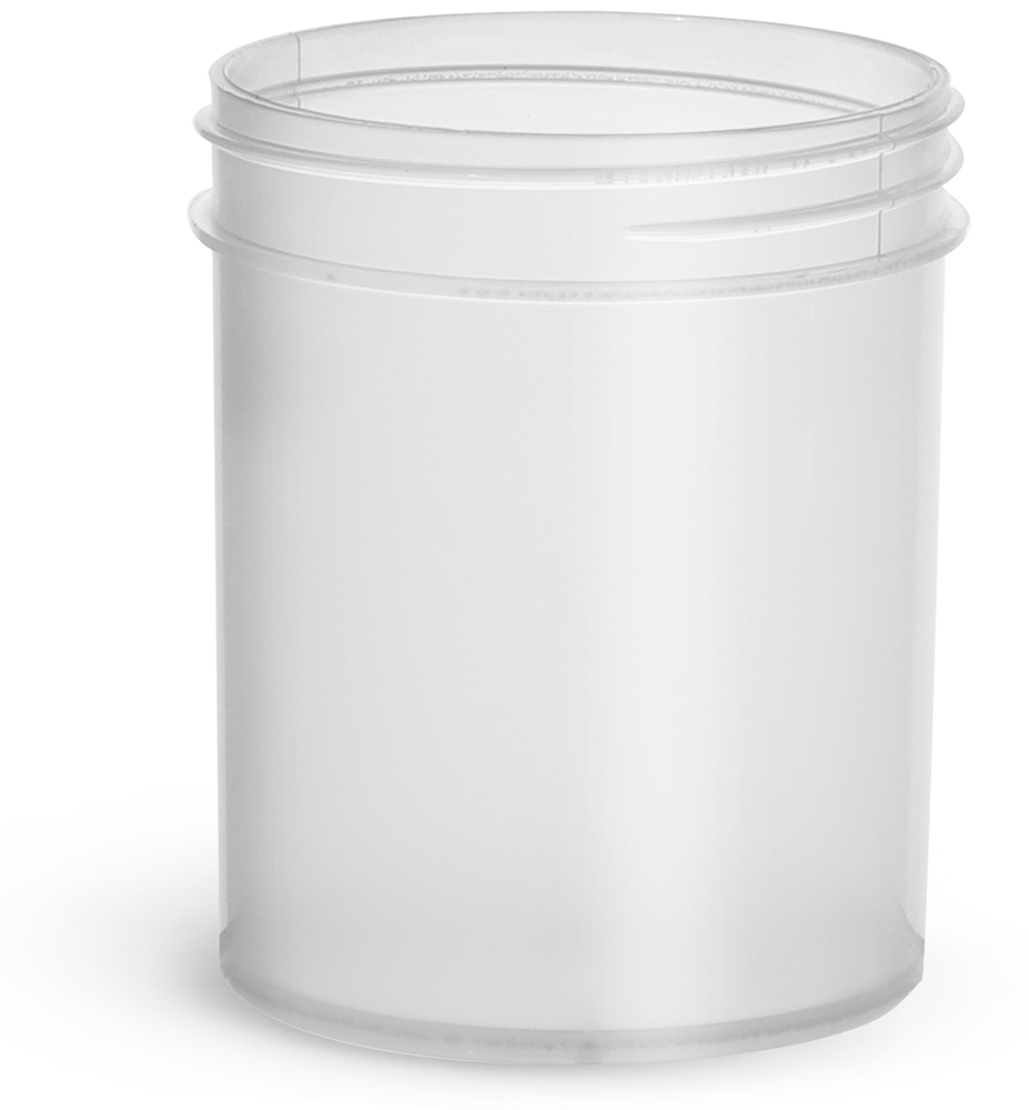 4 oz Natural Polypropylene Jars