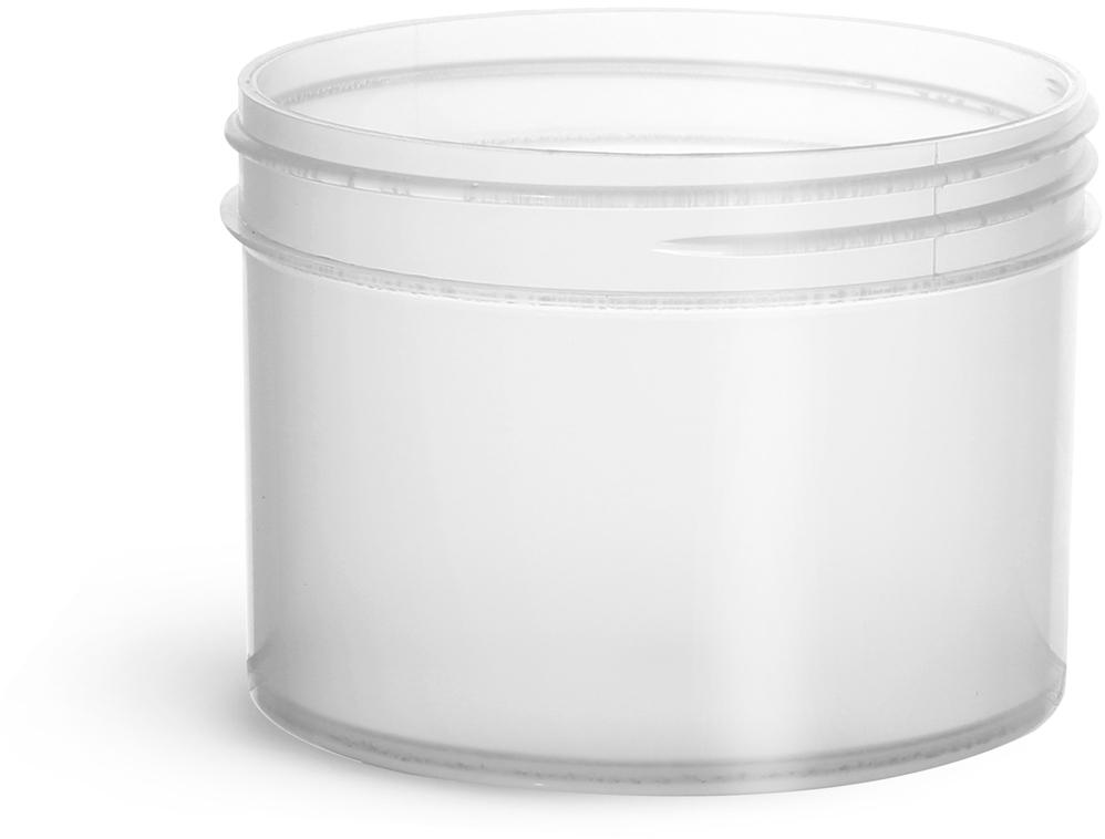Natural Polypropylene Jars
