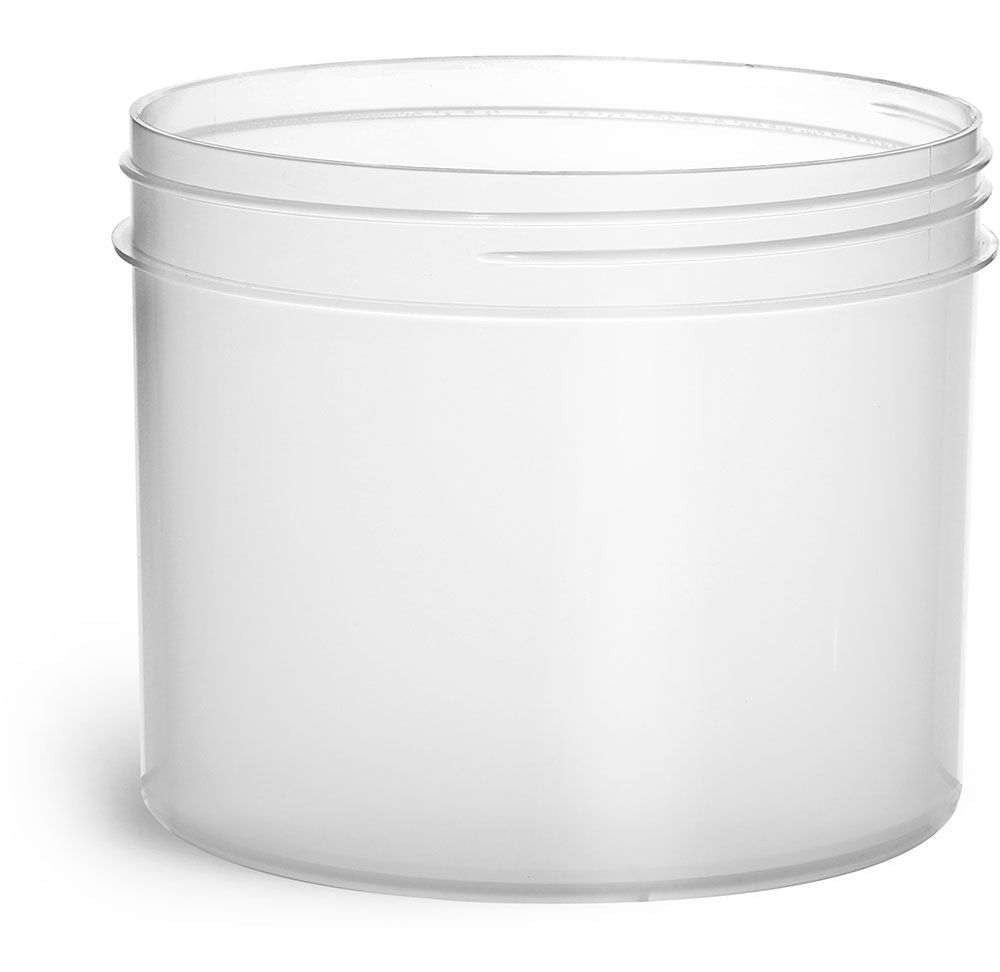 32 oz Natural Polypropylene Jars