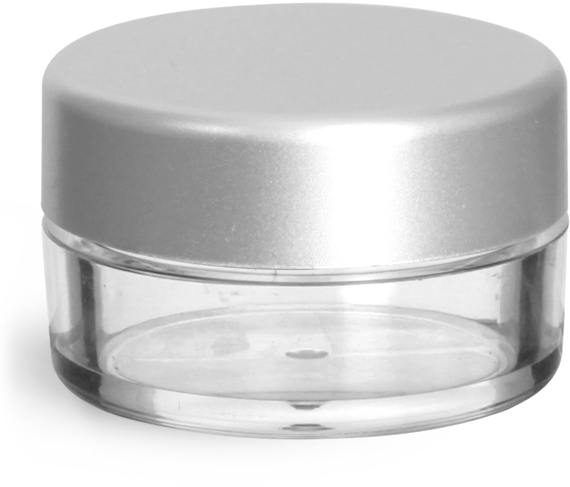 35 mm Silver Matte Caps