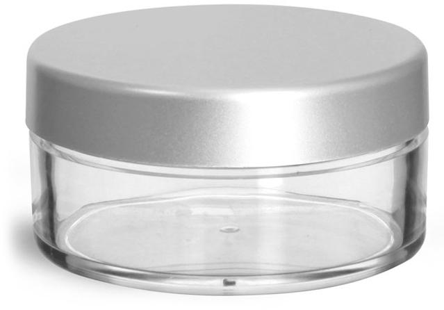 56 mm Silver Matte Caps