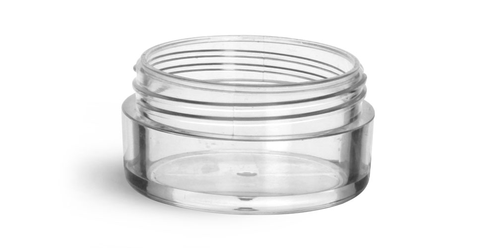10 ml Clear Styrene  Jars