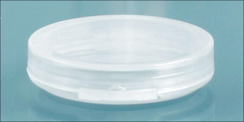 0.05 oz Natural Polypro Hinge Top Vials