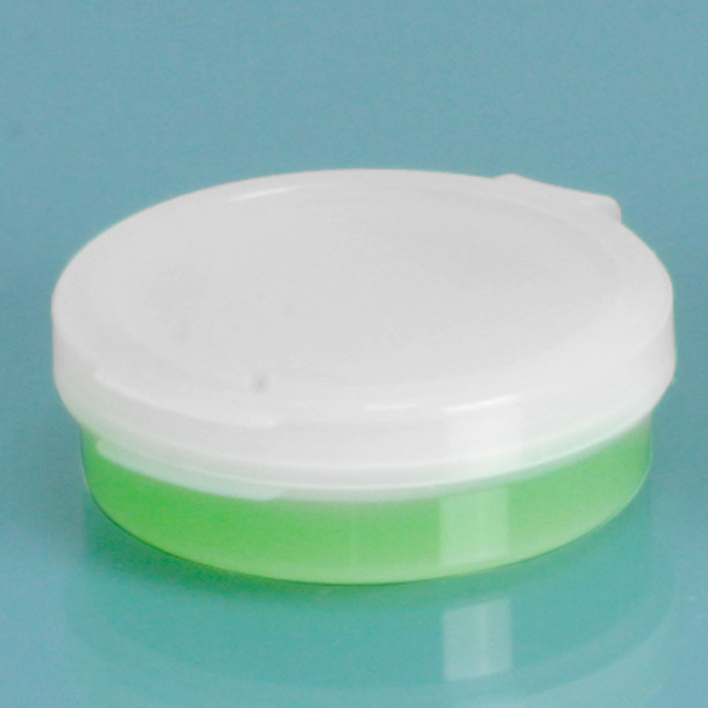 1/4 oz Natural Hinge Top Polycons, Pill Pods