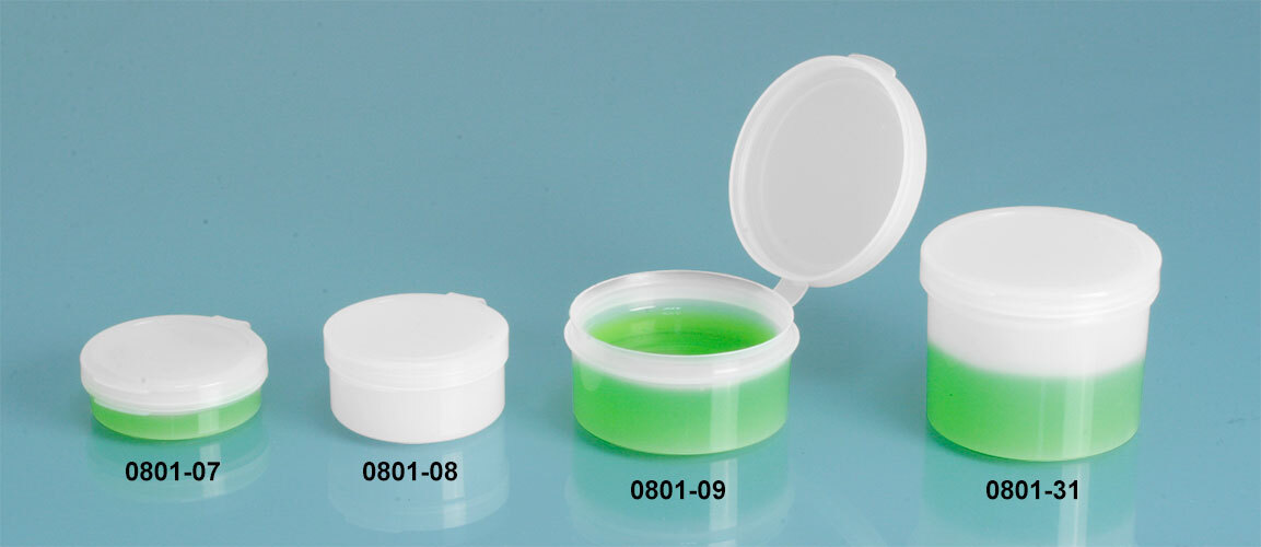 Plastic Hinge Top Containers