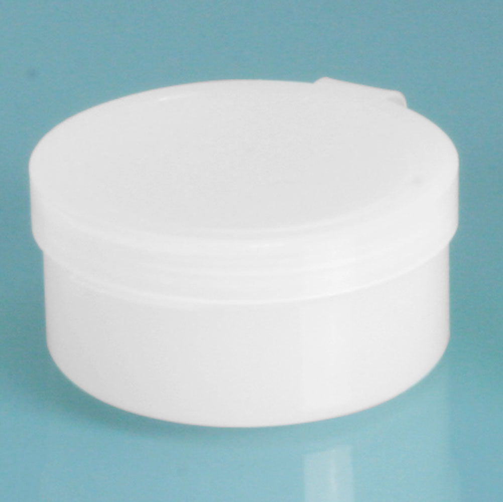 1/2 oz Natural Hinge Top Polycons, Pill Pods