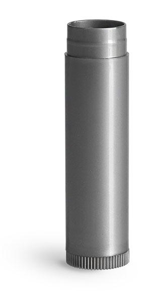 Lip Balm Tubes, Silver Polypropylene Lip Balm Tubes (Bulk), Caps NOT Included