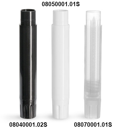 Lip Balm Tubes, Slim Line Lip Balm Tubes (Bulk), Caps Not Included