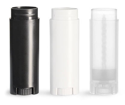 Lip Balm Tubes, Oval Polypro Lip Balm Tubes (Bulk), Caps Not Included